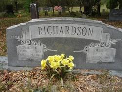 Mary <I>Culliper</I> Richardson