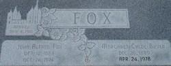 Margaret Chloe <I>Boyer</I> Fox