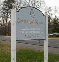 Gaines AME Church Cemetery