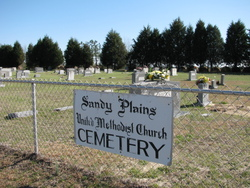 Sandy Plains United Methodist Church Cemetery