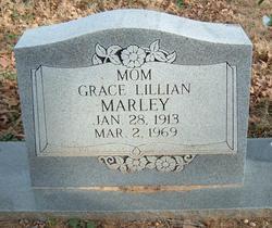 Grace Lillian <I>Sutton</I> Marley