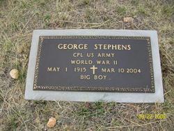 """George """"Big Boy"""" Stephens"""