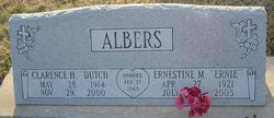 "Clarence Henry ""Dutch"" Albers"
