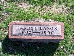 Harry F Bangs