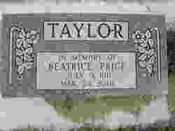 Beatrice Price Taylor