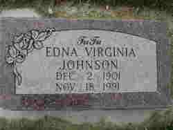 Edna Virginia <I>Jamison</I> Johnson