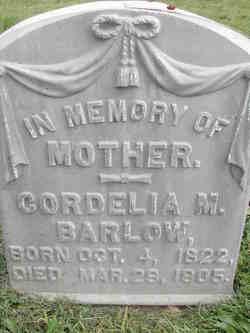 Cordelia Maria <I>Dalrymple</I> Barlow