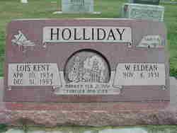 Lois <I>Kent</I> Holliday