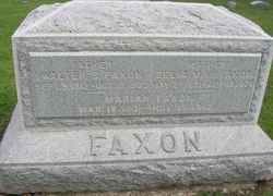 Zelia May <I>Gilbert</I> Faxon