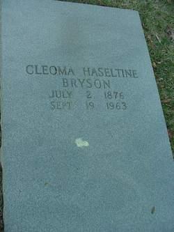 Cleoma Hasetline <I>Dills</I> Bryson