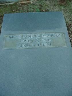 Joyce Spurgeon <I>Dills</I> Garrett