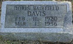 Doris <I>Bairfield</I> Davis
