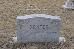 Alvie Frank Baxter
