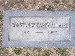 Constance <I>Carey</I> Allaire