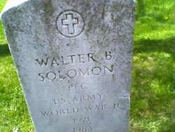 PFC Walter Brown Solomon