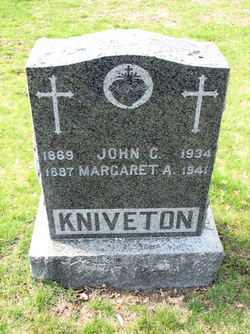 Margaret A <I>Hawthorne-Waite</I> Kniveton
