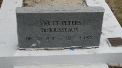 Violet <I>Peters</I> DuRousseaux