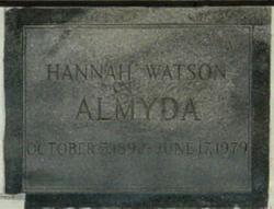 Hannah <I>Watson</I> Almyda