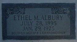 Ethel Marguerite <I>Sawyer</I> Albury