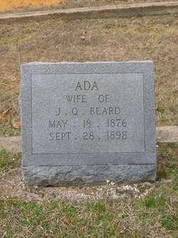 Ada <I>Dickey</I> Beard