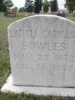 Latitia Carnao Bowles