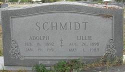Lillie <I>Mills</I> Schmidt