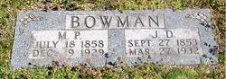 """Madora Parker """"Dory"""" <I>Bomer</I> Bowman"""