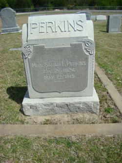 Mrs Sarah Lucebia <I>Hall</I> Perkins