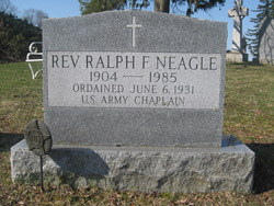 Rev Ralph F Neagle