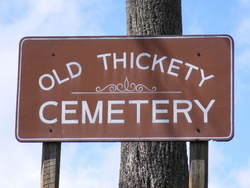 Old Thickety Cemetery