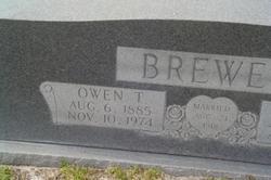 Owen Thomas Brewer