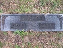 Sallie Betty <I>Basham</I> Blount