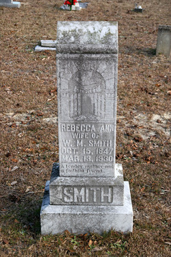 Rebecca Ann <I>Carlisle</I> Smith