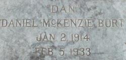 """Daniel McKenzie """"Dan"""" Burt"""