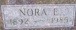Nora E <I>McCaw</I> Evans