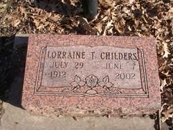 Bonnie Lorraine <I>Taylor</I> Childers