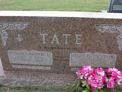 Mary Ruth <I>Starr</I> Tate