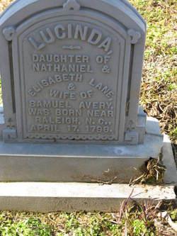 Lucinda <I>Lane</I> Avery