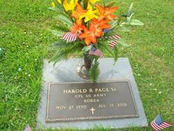 Harold Rodney Page, Sr