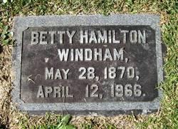 "Elizabeth ""Betty"" <I>Hamilton</I> Windham"