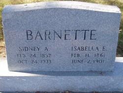 Martha Isabella <I>Ewart</I> Barnette