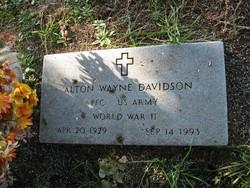 """Alton Wayne """"Mann"""" Davidson, Sr"""