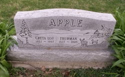 Greta Lou <I>Skinner</I> Apple