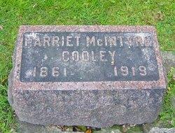 Harriet <I>McIntyre</I> Cooley