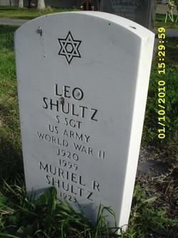 Sgt Leo Shultz