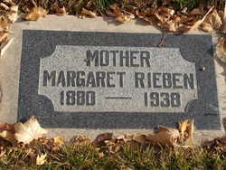 Margaret <I>Stevens</I> Rieben