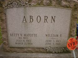 Betty V. <I>Matotte</I> Aborn