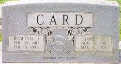 Roselyn Florence <I>Jenkins</I> Card