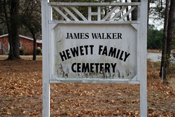 James Walker Hewett Family Cemetery
