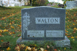 Sarah Mildred <I>Bucklin</I> Walton